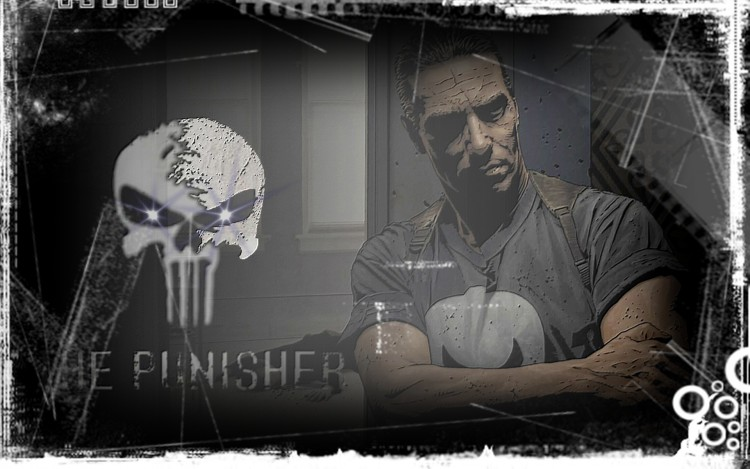 Fonds d'écran Comics et BDs Punisher The Punisher