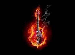 Wallpapers Music Fireguitar