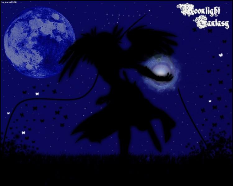 Fonds d'écran Fantasy et Science Fiction Anges moonlight fantasy