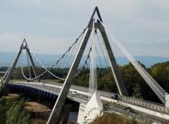 Fonds d'écran Constructions et architecture Grand pont ;Loire 42