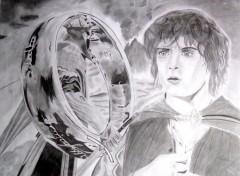 Fonds d'écran Art - Crayon Le Seigneur des anneaux