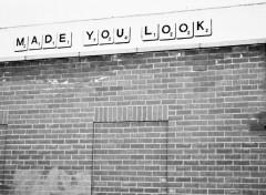 Fonds d'écran Art - Peinture Made you look