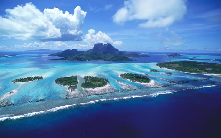 Fonds d'écran Nature Iles Paradisiaques Les îles