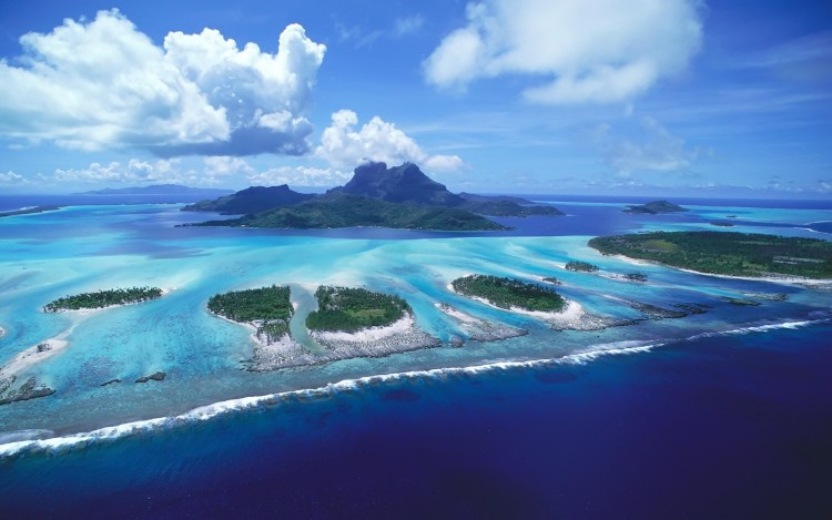 Wallpapers Nature Paradisiac Islands Les îles