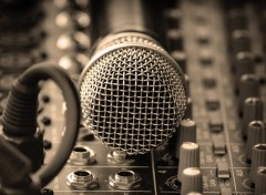 Fonds d'�cran Musique Laut sprecher