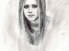 Wallpapers Art - Pencil Avril Lavigne