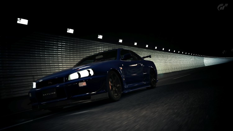 Wallpapers Video Games Gran Turismo 5 Skyline R34 GTR
