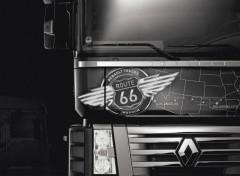 Wallpapers Various transports série limitée Renault Magnum Route 66