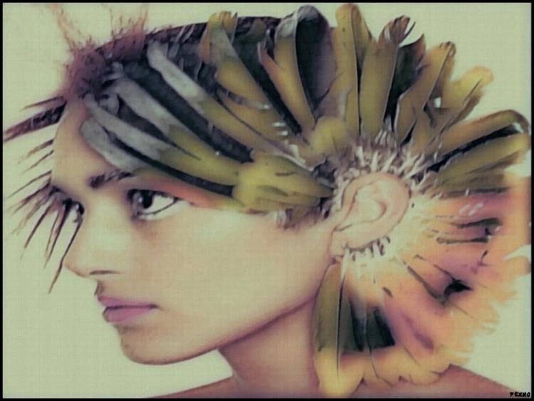 Fonds d'écran Art - Peinture Portraits - Visages Wallpaper N°272838