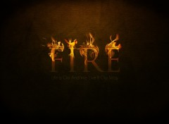 Wallpapers Digital Art Fire