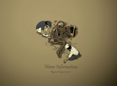 Wallpapers Digital Art Homo Informaticus