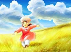 Fonds d'écran Manga Nausicaä de la Vallée du Vent