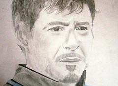 Fonds d'écran Art - Crayon Tony Stark dans Iron man 2