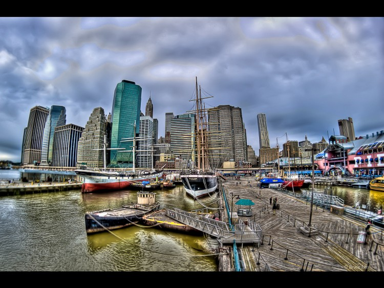 Wallpapers Trips : North America United-States > New York Les Quais de New-York