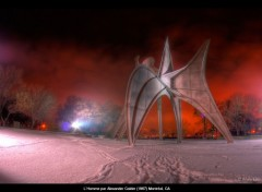 Fonds d'écran Constructions et architecture L'homme de Calder