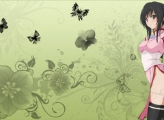 Wallpapers Manga green fantasy