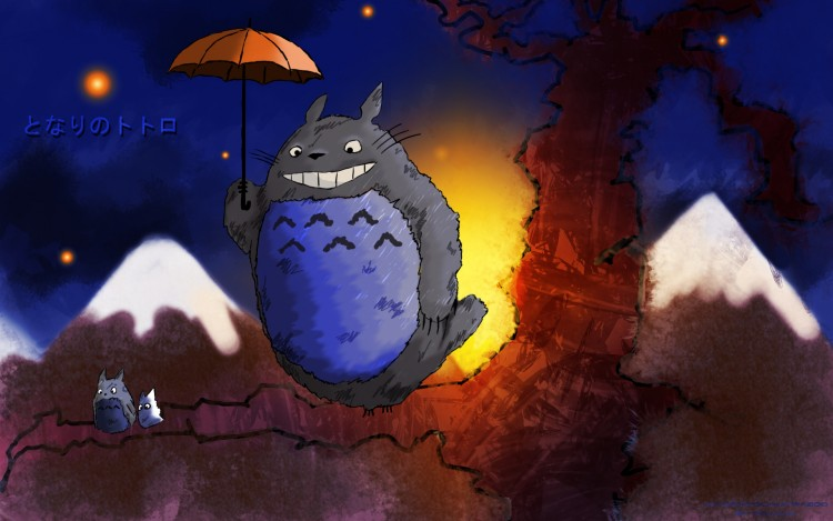 Wallpapers Cartoons My Neighbor Totoro Tonari no Totoro
