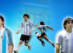 Fonds d'écran Sports - Loisirs messi & maradona