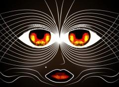 Fonds d'écran Art - Numérique Femme masquée