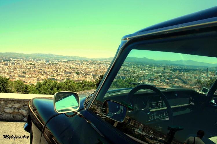 Wallpapers Cars Cars - collection voiture vue de marseille