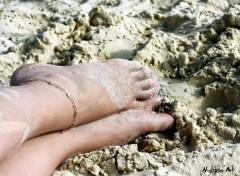 Fonds d'écran Hommes - Evênements Pieds dans le sable