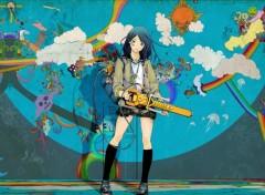 Fonds d'écran Manga I love killing