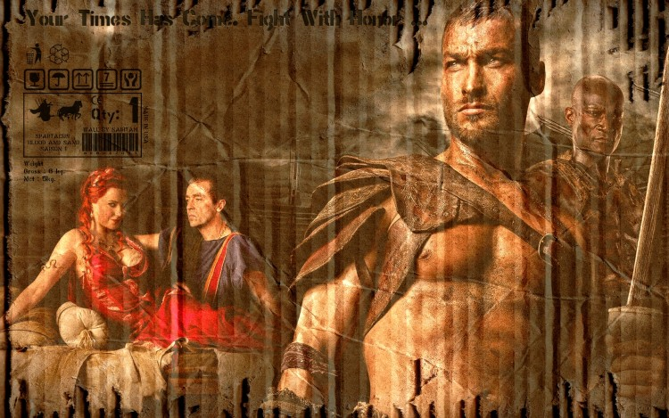 Fonds d'écran Séries TV Spartacus Blood And Sand Spartacus Blood And Sand Saison 1