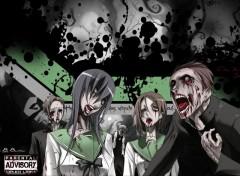 Fonds d'écran Manga Zombie