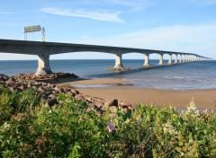 Fonds d'écran Voyages : Amérique du nord Pont de la confédération Ile du Prince Edouard, Canada