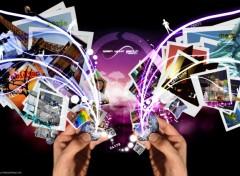 Wallpapers Digital Art Open your earth