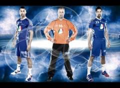Wallpapers Sports - Leisures Michael GUIGOU, Thierry OMEYER, Nikola KARABATIC