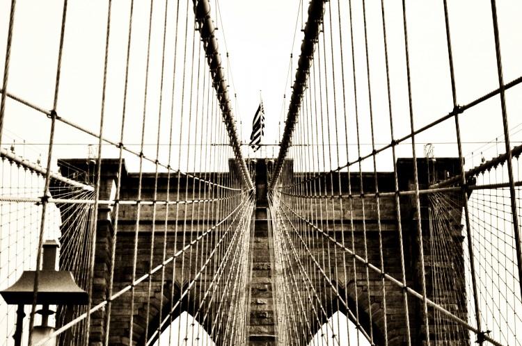 Fonds d'écran Voyages : Amérique du nord Etats-Unis Brooklyn Bridge