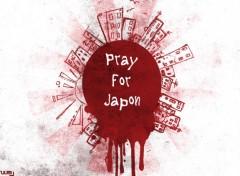 Wallpapers Digital Art pray for Japon