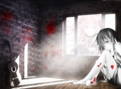 Fonds d'écran Manga ¤ The black stories ¤
