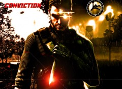 Wallpapers Video Games double face Of Sam Fisher.