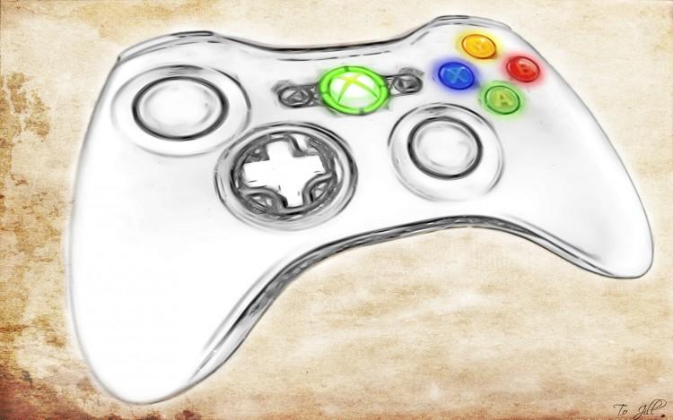 Fonds d'écran Jeux Vidéo Xbox 360 Manette Xbox