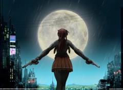 Wallpapers Manga Moonlite serenade (Rain version)