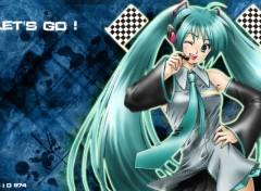 Fonds d'écran Manga Vocaloïd