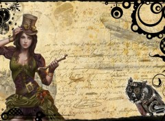 Fonds d'écran Fantasy et Science Fiction SteamPunk 1