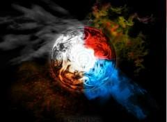 Fonds d'écran Art - Numérique 4 Elements