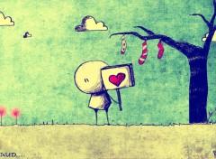 Fonds d'écran Art - Numérique love story EP1