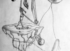 Fonds d'�cran Art - Crayon boue de terre...