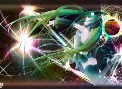 Fonds d'écran Manga miku light