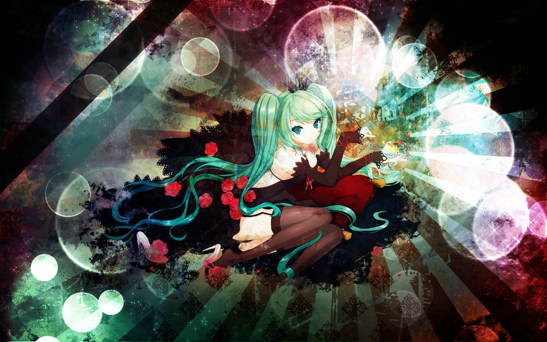 Fonds d'écran Manga Vocaloïds Luxury