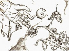Fonds d'écran Art - Crayon The Devil is in the Best