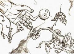 Fonds d'�cran Art - Crayon The Devil is in the Best