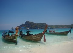 Wallpapers Trips : Asia Plage de monkey Beach sur Koh Phi Phi