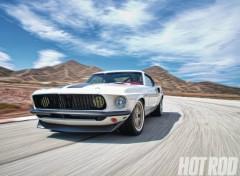 Wallpapers Cars ford mustang (1969)