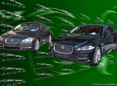 Wallpapers Cars Jaguar XF et XJ