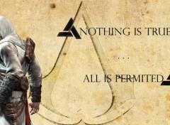 Fonds d'écran Jeux Vidéo Altaïr's rules